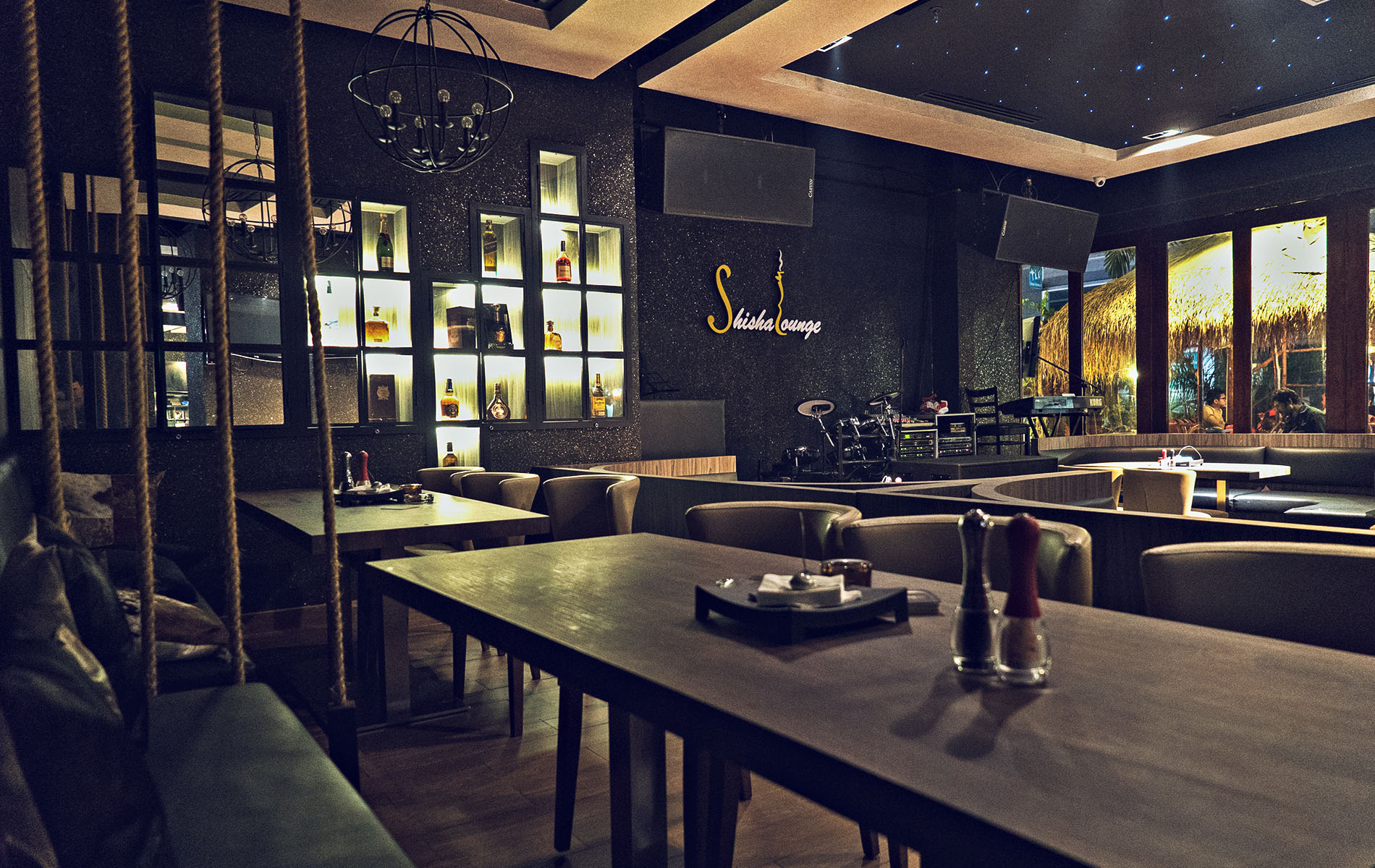 Shisha Lounge Restauran Sitting Area